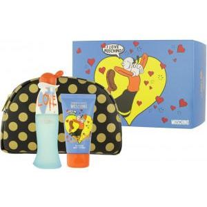 Moschino Cheap & Chic I Love Love EDT 50 ml + BL 50 ml + Cosmetic bag  Ladies