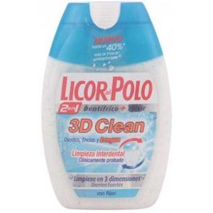 Licor Del Polo Toothpaste 2 In 1 3d Clean 75ml