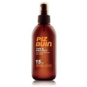 Piz Buin Tan And Protect Tan Accelerating Oil Spray Spf15 150ml