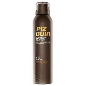 Piz Buin Instant Glow Skin Illuminating Sun Spray Spf15 150ml