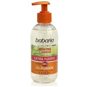 Babaria Styling Gel Extra Strong With Keratin And Ginseng 300ml