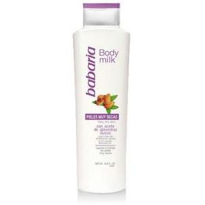 Babaria Sweet Almonds Body Milk Very Dry Skin 500ml