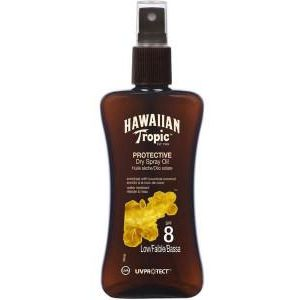 Hawaiian Tropic Protective Dry Spray Oil Spf8 Low 200ml