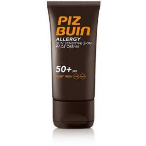 Piz Buin Allergy Sun Sensitive Skin Face Cream Spf50 50ml