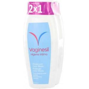 Vaginesil Duplo Odor Block Higiene Intima 2x250ml
