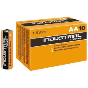 Battery Duracell INDUSTRIAL MN1500/LR6 Mignon AA (10 pcs)