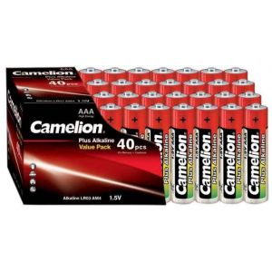 Batterie Camelion Alkaline LR03 Micro AAA (40 pcs Value Pack)