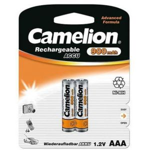 Rechargeable batteries Camelion AAA Micro 900mAH (2 Pcs)
