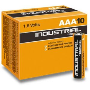 Battery Duracell INDUSTRIAL MN2400/LR03 Micro AAA (10 pcs)