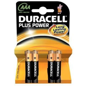 Batterie Duracell Plus Power MN2400/LR03 Micro AAA (4 Pcs)