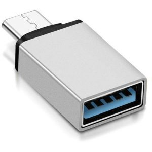 USB Type-C - USB 3.0 Adapter (Silver)