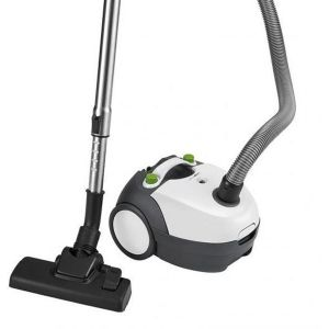 Clatronic BS 1300 Floor vacuum cleaner (white/grey)