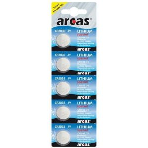 Battery Arcas Lithium Special CR2032 (5 Pcs.)