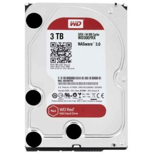 WD Red NAS Hard Drive 3 TB intern 3.5  WD30EFRX