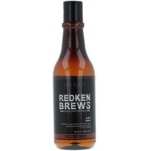 Redken Brews 3-in-1 Shampoo, Conditioner & Body Wash 300 ml